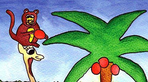 Favola giraffa vanitosa