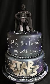 Torte strane e folli . La torta Darth Vader