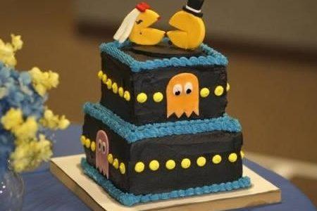Torte strane e folli . La torta Pacman