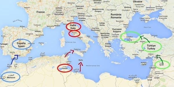 ISIS attacco all' Italia