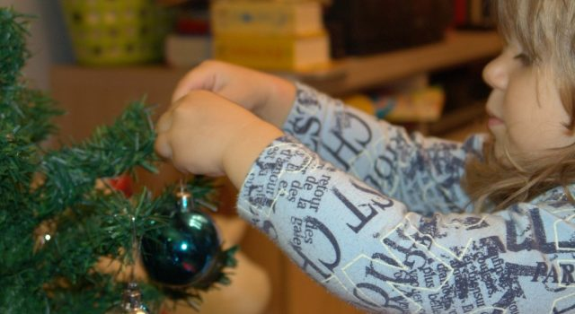 Fiabe brevi Primo albero di Natale