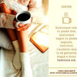 Sogni premonitori : Frase Goethe sogno