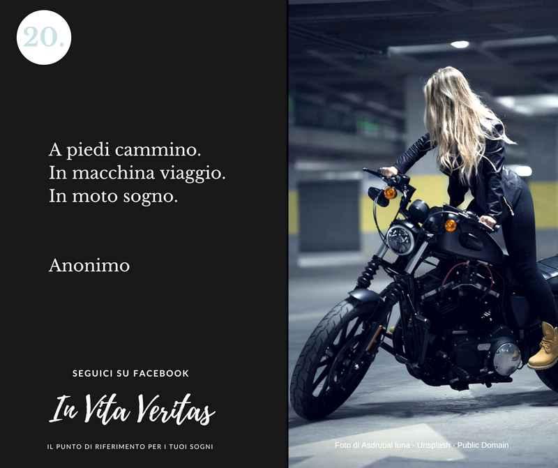 Cosa significa sognare una moto motocicletta